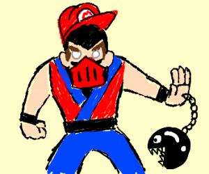 Mario Mortal Kombat