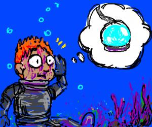 Diver forgot his diving helmet. . .AGAIN!!!