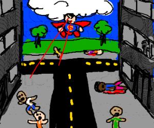Superman becomes serial killer