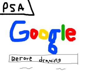 PSA: Google before drawing