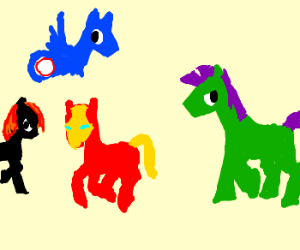 The Avenger's are now MLP