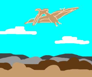 flying high Pterodactyl