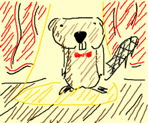 beaver widduh bowtie