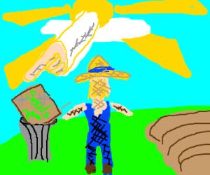 God shames farmer for spoiling seeds