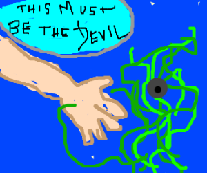 According to Christianity, seaweed is evil