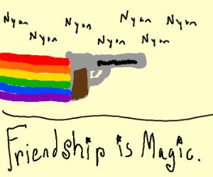 MLP Nyan... with a gun