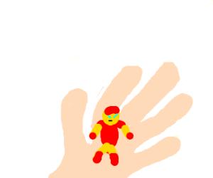 Honey, I shrunk Tony Stark