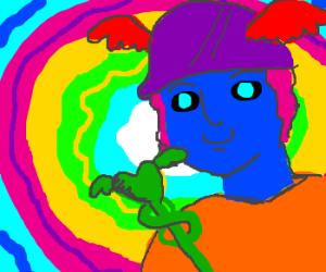 Hermes on LSD