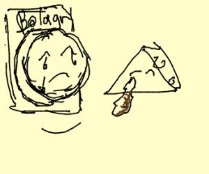 Bologna cries real tears--cheese cries poop.
