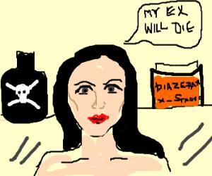 woman wanting to kill ex