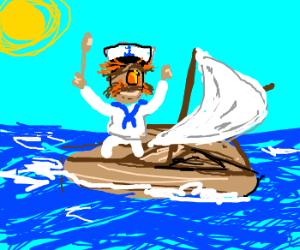 The Swedish Chef's early nautical years