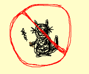 no smoking cats