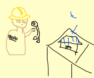 Bob the builder can fix the tiny house.