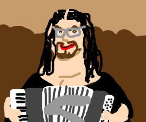 Weird Al Yankovich is the new Mona Lisa