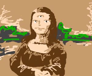 Chernobyl Mona Lisa, girl with something extra