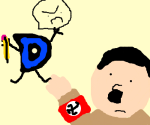 Drawception hates Hitler