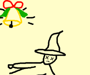 Christmas bell celebrates death of the witch