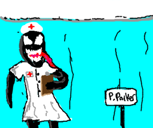 Venom (Spider-Man) becomes a nurse