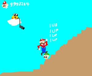 Mario cheats for infinite lives