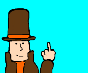 Mystery solved! Professor Layton quits.