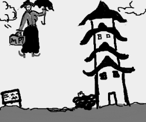 Mary Poppins travels to Japan