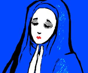 the Virgin Mary.