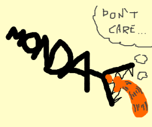 Garfield doesnt care that Monday is eating him