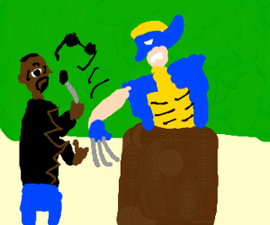 Kanye learns not to interrupt Wolverine
