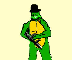 Teenage Mutant Mobster Turtle