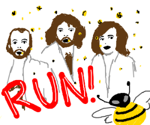 The Bee Gees but... BEES!?