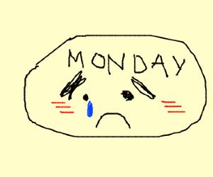 Sentimetal Monday is sad