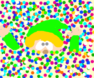 Link is drowning in confetti