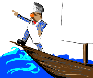 Swedish chef sails for the New World!