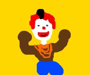 Ronald McDonald replaced by Mr. T