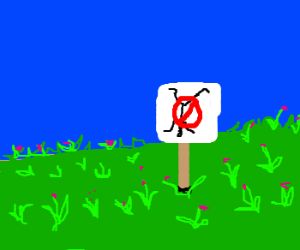 No cartwheeling allowed in the fields