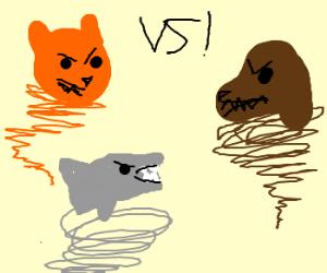 CATNADO vs DOGNADO vs SHARKNADO