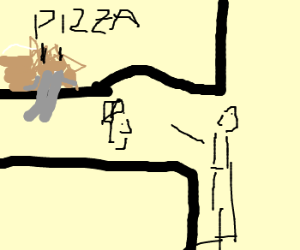''I'll have a Walrus Pizza please.''