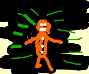 Radioactive Gingerbread Man