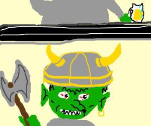Viking is a troll; transmission interference