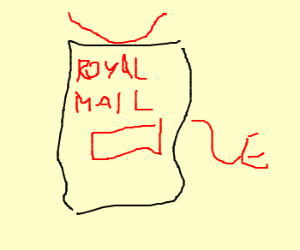 Royal Mail box of the damned
