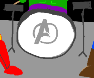 The Avengers form a band.