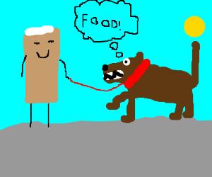 Mr Twinkie gets a dog