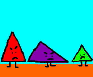 No equality for equilateral triangles!