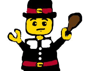 lego pilgrim
