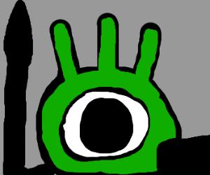 Green patapon