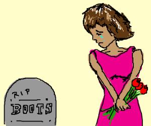 grown up dora sad boots is dead