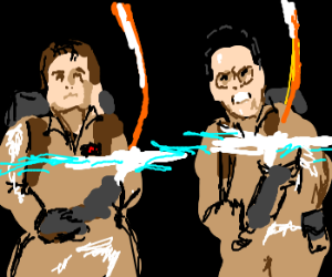 Ghostbusters destroy stay puff marshmellow man