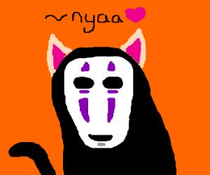 No-Face Cat (Spirited Away)