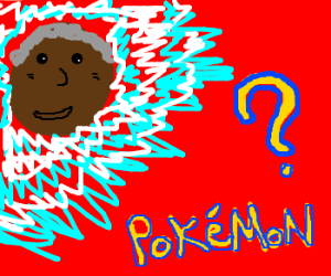"Morgan Freeman in ""Name that Pokemon"""