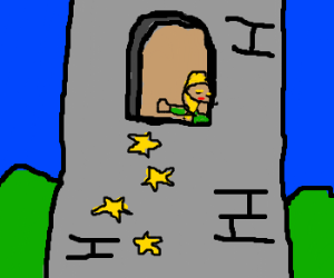 Rapunzel, Rapunzel, let down your stars